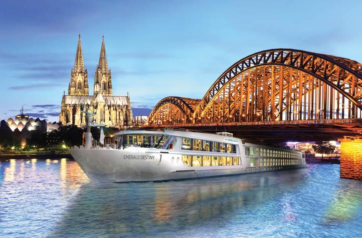 Three idyllic river cruises for history buffs
